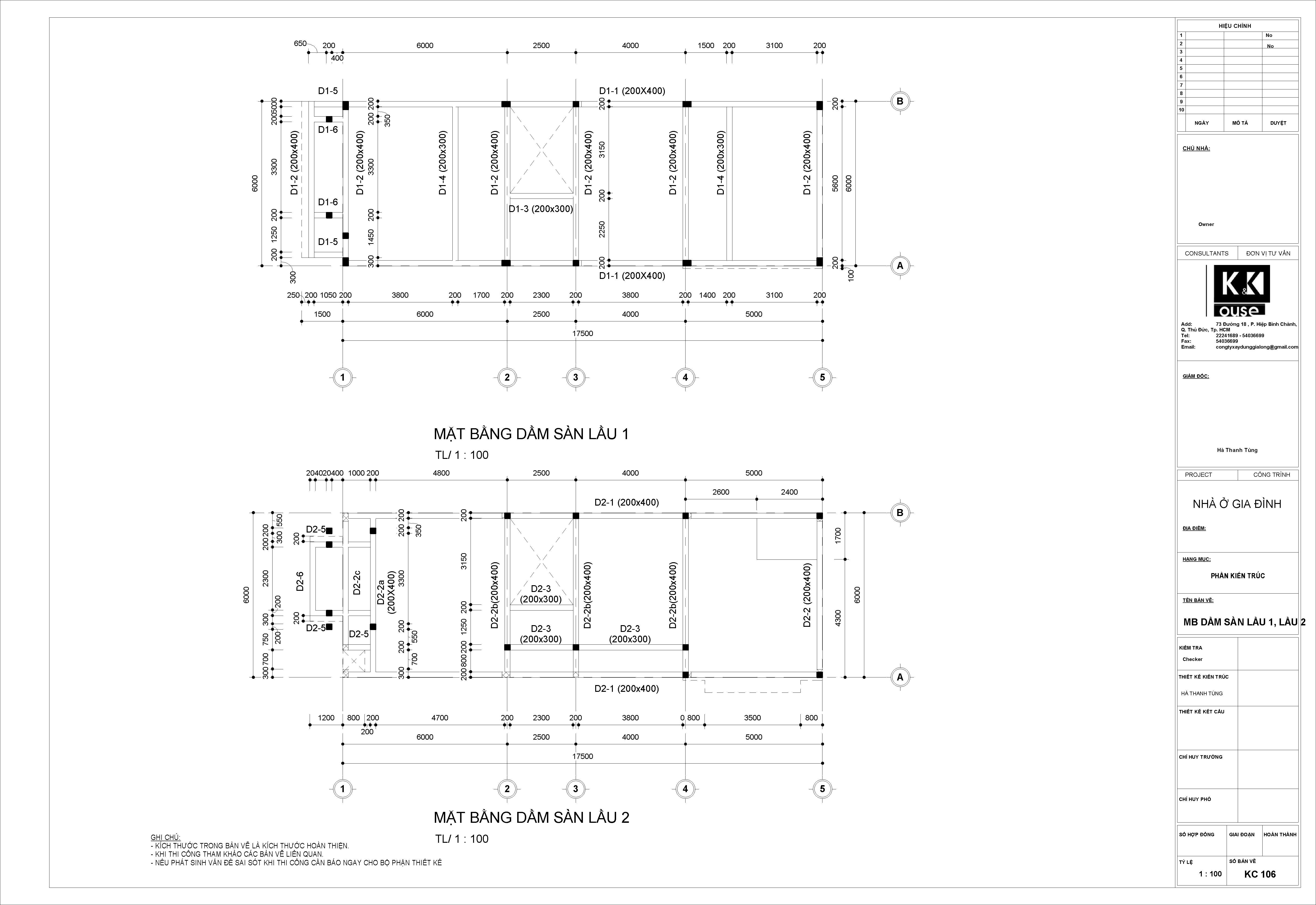 khóa học Revit Structure 1