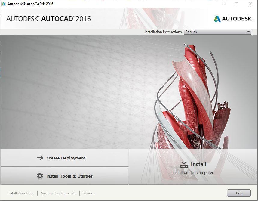 Dowload Autocad 2016 1