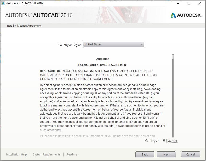 Dowload Autocad 2016 2