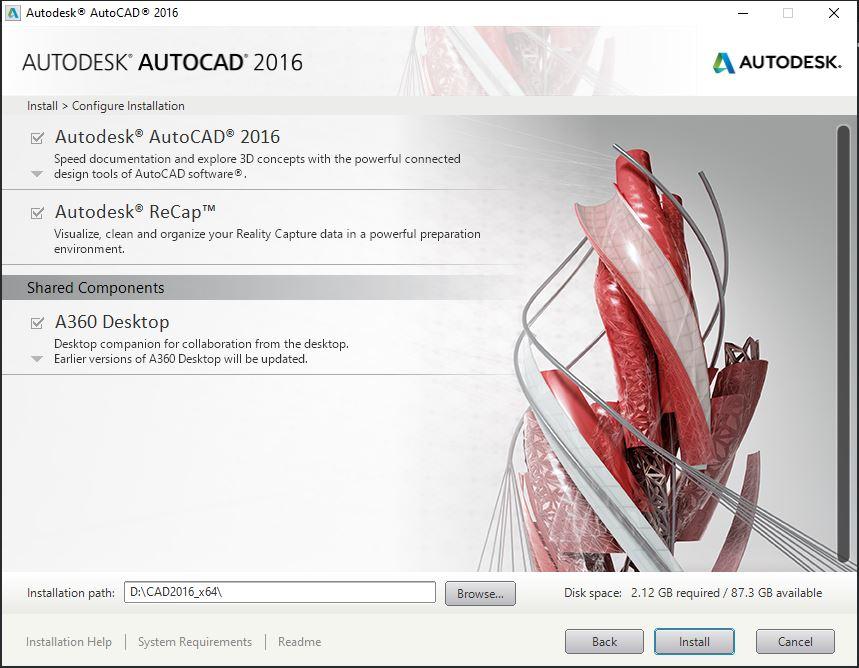 Dowload Autocad 2016 4