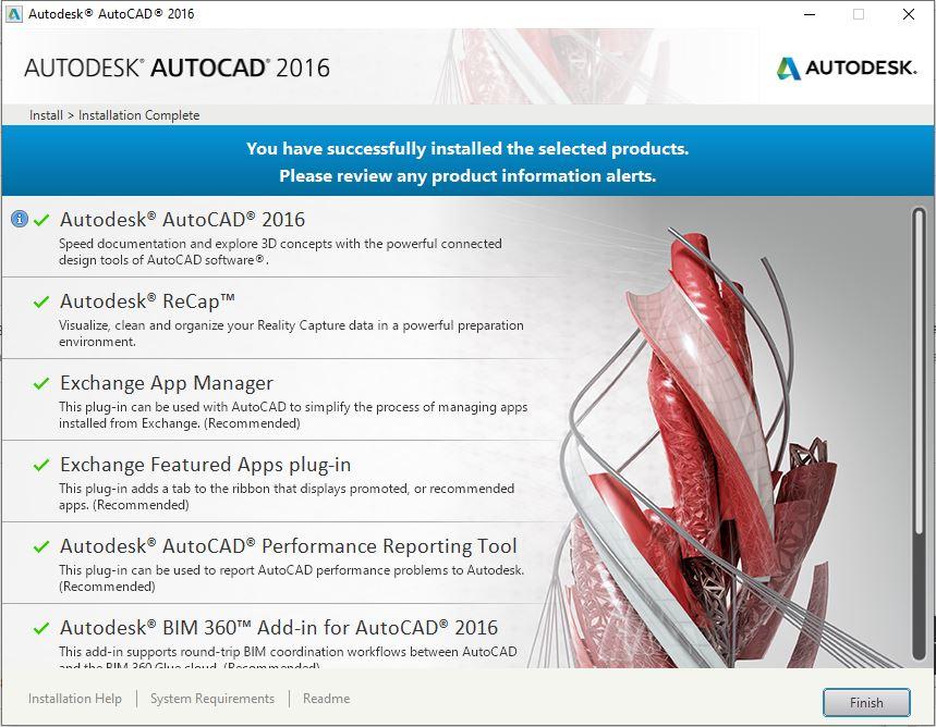 Dowload Autocad 2016 6