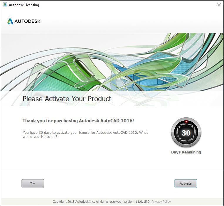 Dowload Autocad 2016 7